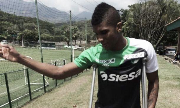 Eduar Caicedo sufre una lesión en los meniscos