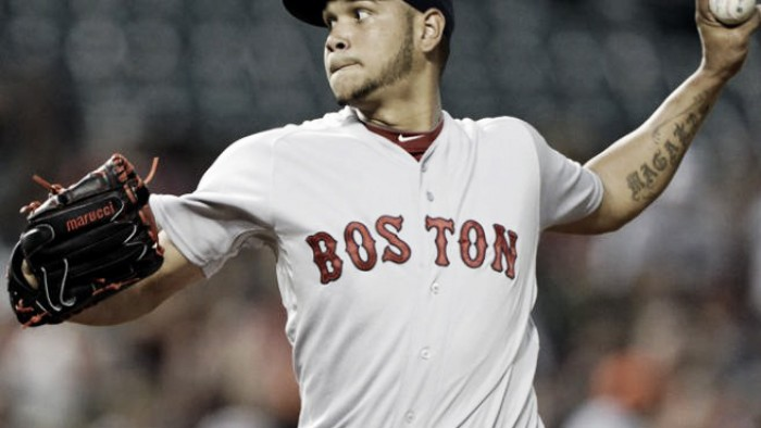Struggling Eduardo Rodriguez looks to lead Boston Red Sox over Baltimore Orioles in rubber match