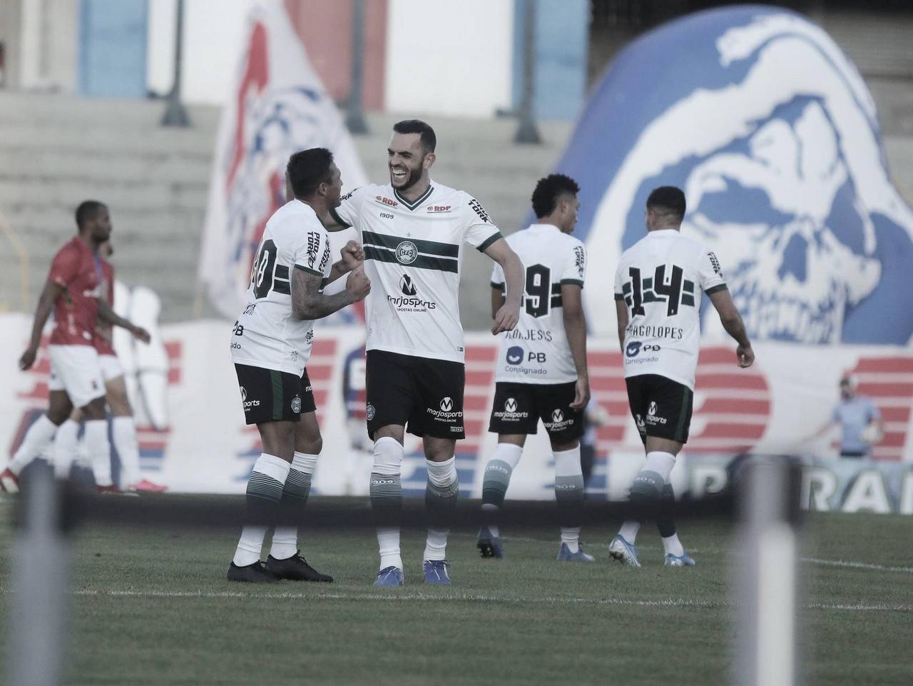 Com 'lei do ex', Coritiba vence Paraná no clássico das quartas de final
