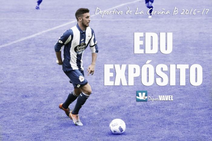 Deportivo de La Coruña B 2016/17: Edu Expósito