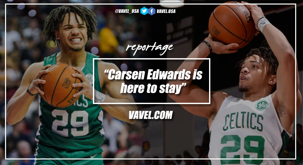 Carsen Edwards is here to stay