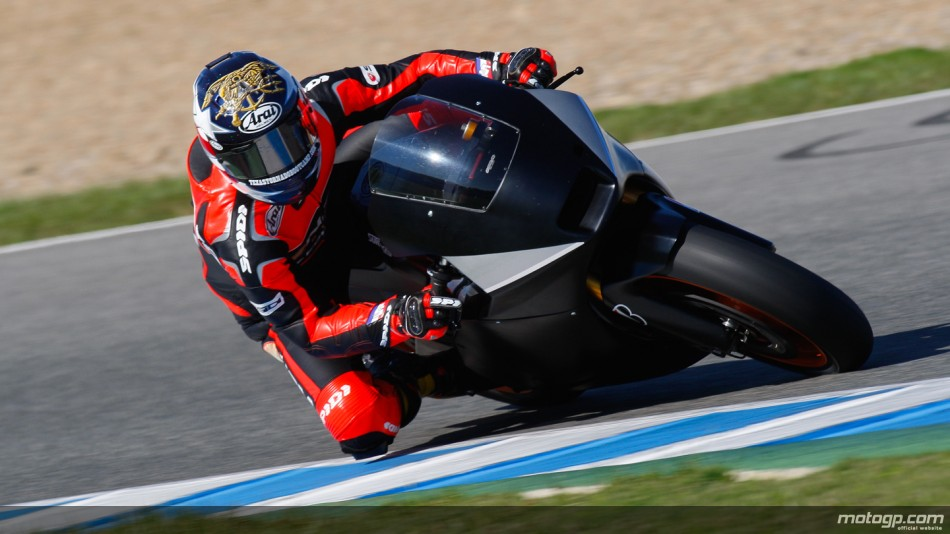 Edwars vuelve a rodar en Jerez