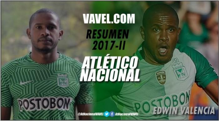 Resumen Atlético Nacional 2017 II: Edwin Valencia, otra desilusión