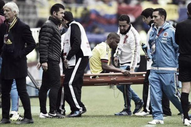 Edwin Valencia se retira de la Copa América por lesión