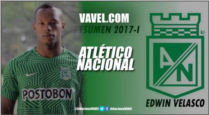 Resumen 2017-I Atlético Nacional: Edwin Velasco, constante y perseverante por la titularidad