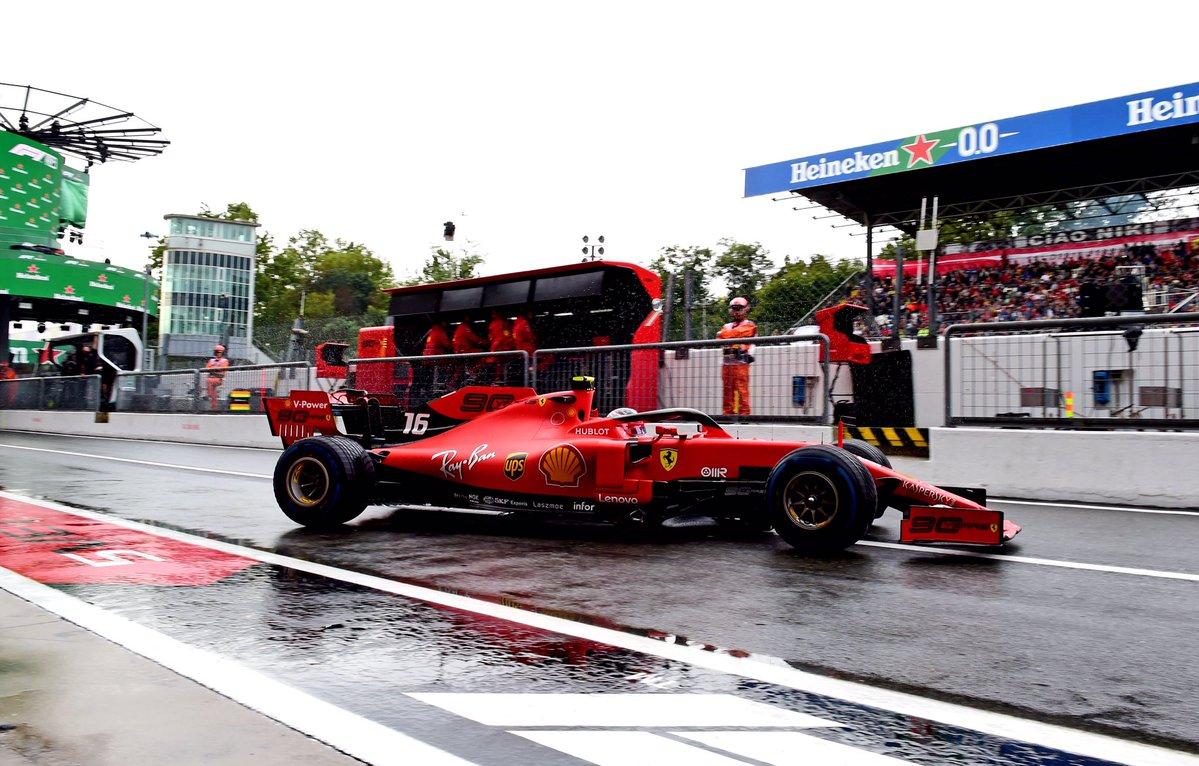 Formula 1 - Gran Premio d'Italia: Leclerc davanti a Hamilton nelle libere 2