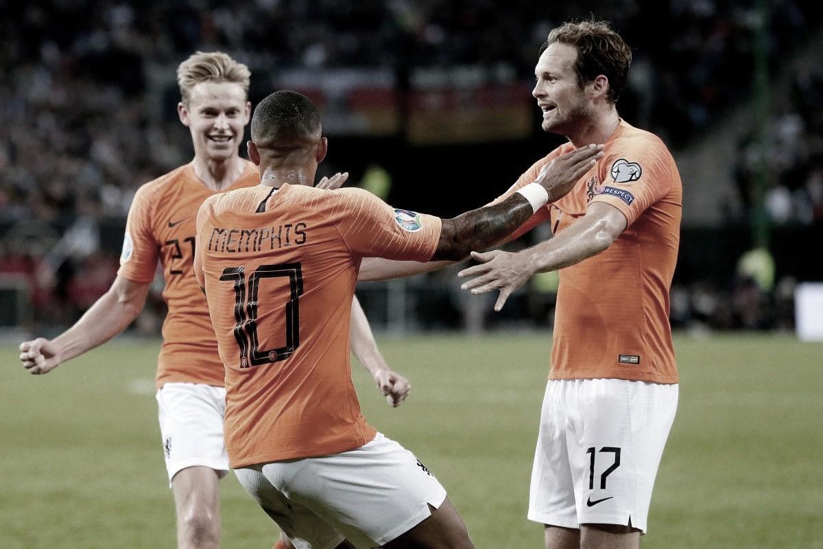 De virada, Holanda vence Alemanha em Hamburgo pelas Eliminatórias da Euro 2020