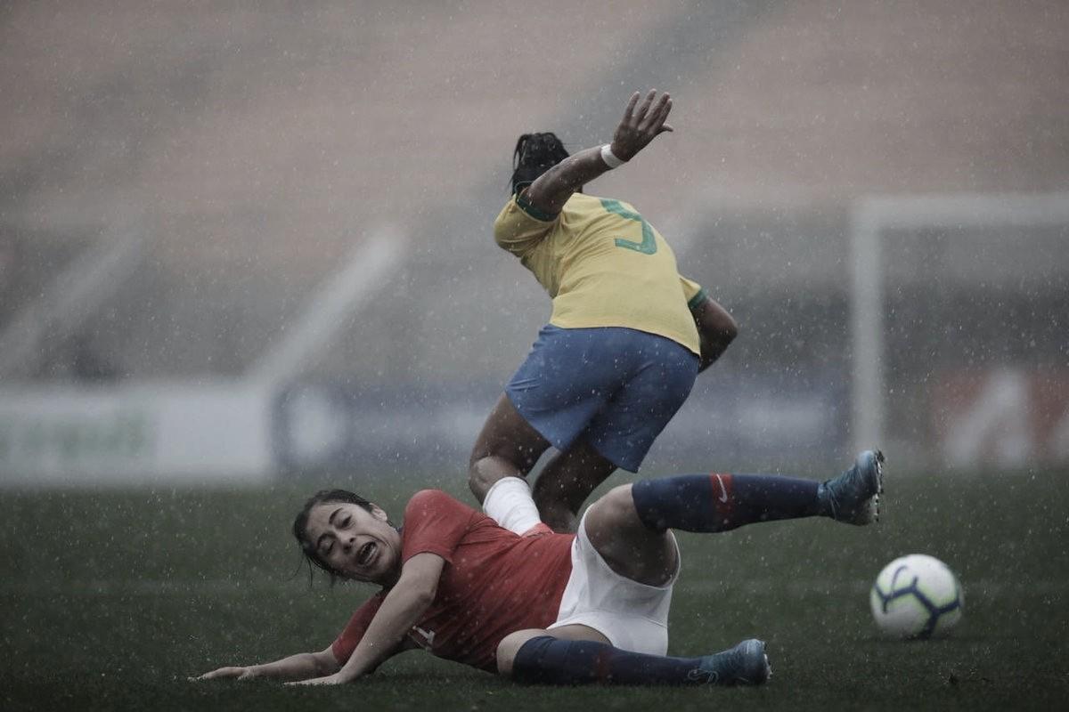 Aline Reis brilha nos pênaltis, mas Brasil é derrotado pelo Chile no Torneio Internacional Feminino