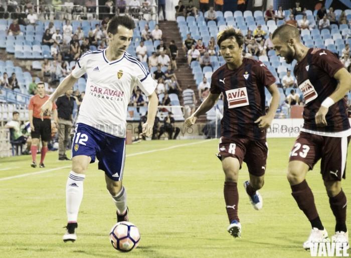 Resumen Real Zaragoza 0-2 Eibar en Pretemporada 2017