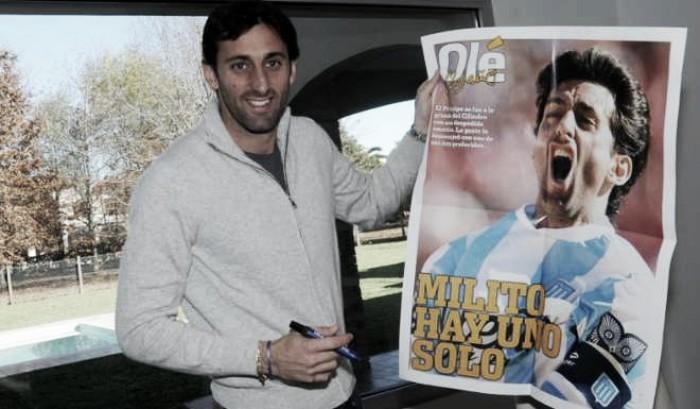 """Diego Milito: """"Perdí parte de mi vida en el pitazo final"""""""