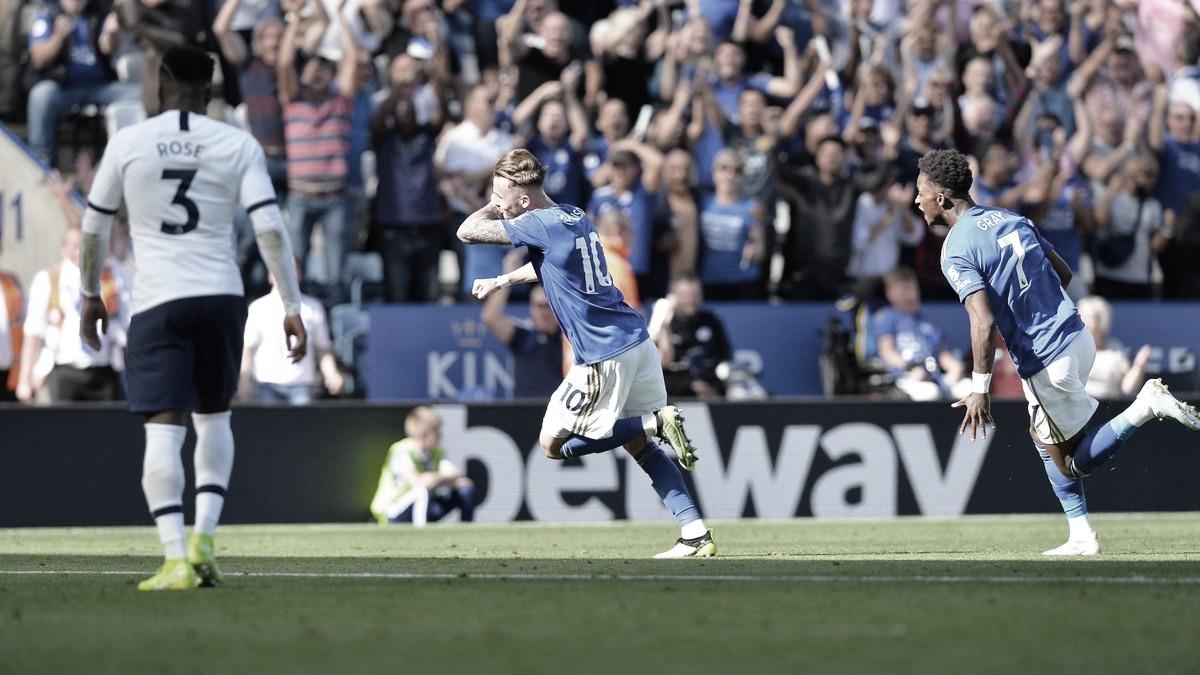 Com polêmica do VAR, Leicester bate Tottenham e conquista vice-liderança da Premier League