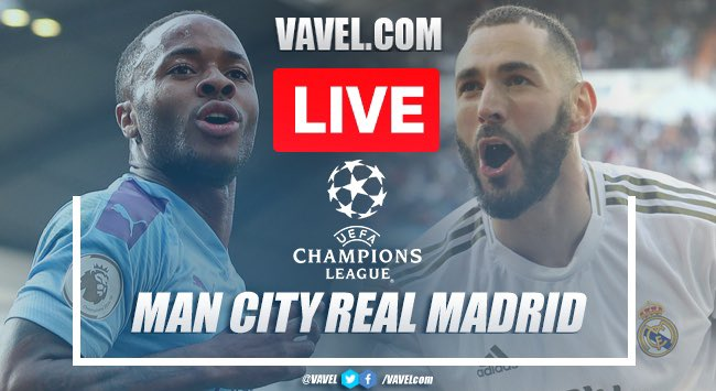 As it happened: Manchester City 2-1 Real Madrid in Champions League