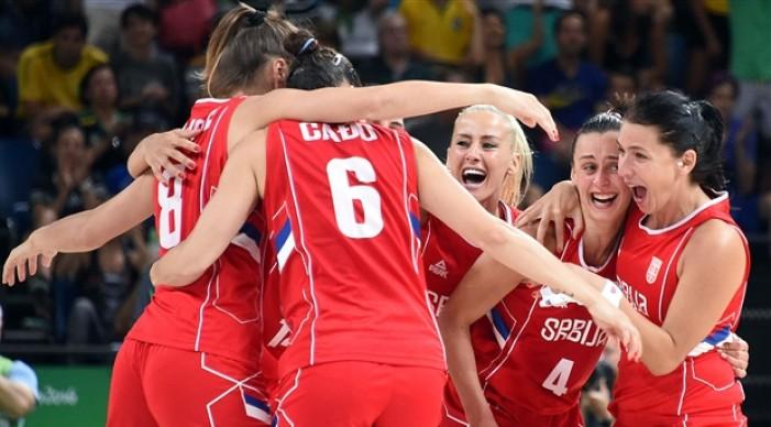 Rio 2016 - Basket femminile: La Serbia conquista la medaglia di bronzo