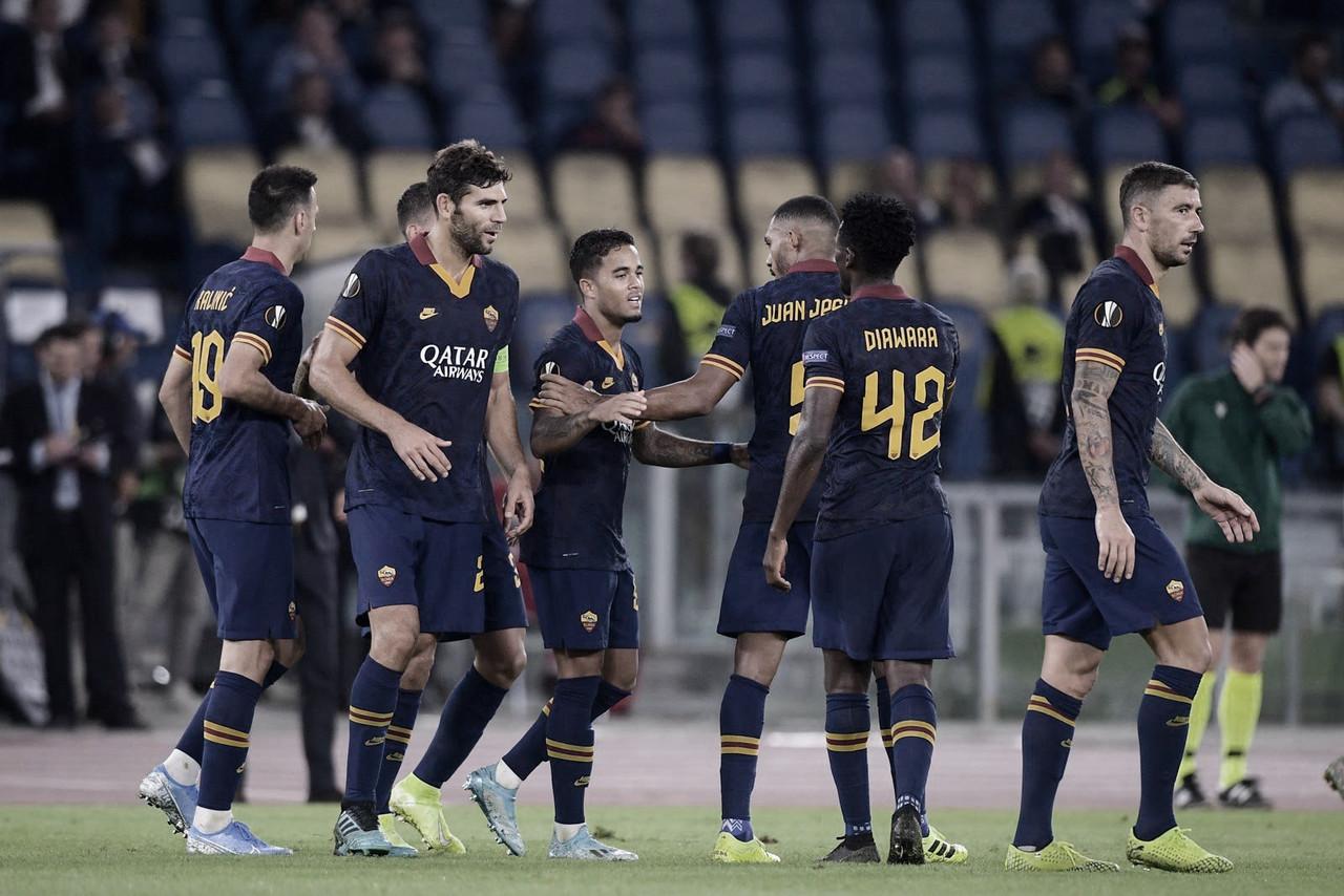 Sem sustos, Roma goleia Istambul em estreia na Liga Europa