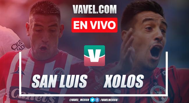 Resumen y video goles San Luis 2-3 Xolos en Apertura 2019