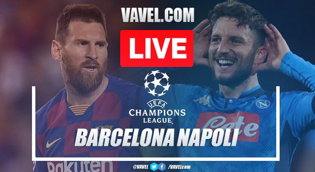 As it happened: Barcelona 3-1 Napoli in Champions League 2020