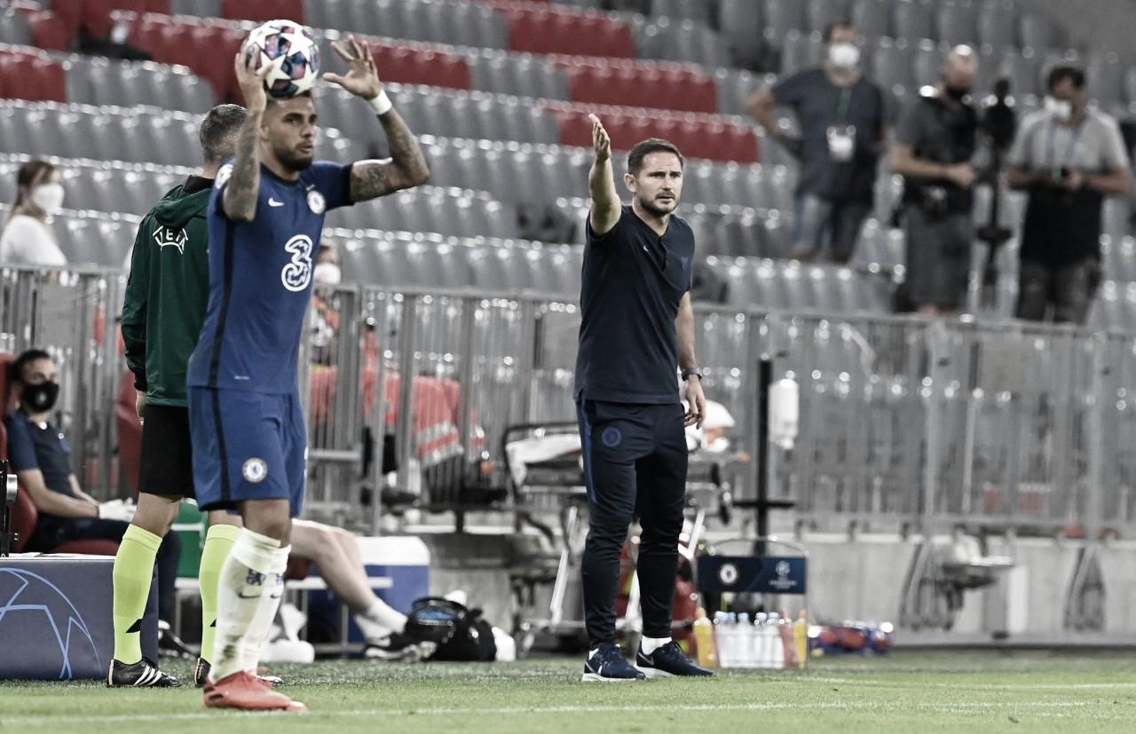 """Lampard reconhece eliminação na Champions e exalta Bayern: """"tem muita experiência"""""""