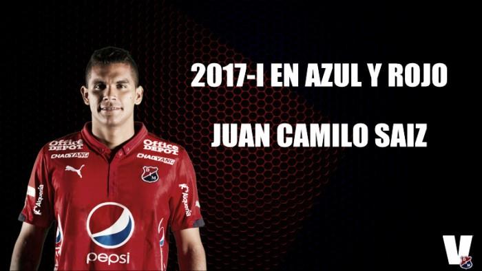 2017-1 en azul y rojo: Juan Camilo Saiz
