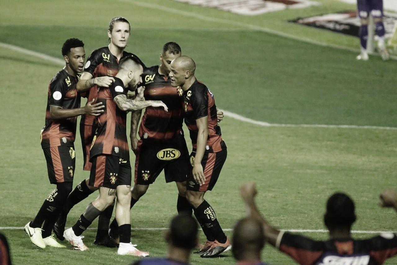Paciência para concluir do Sport foi maior que a esperteza e valentia do Ceará