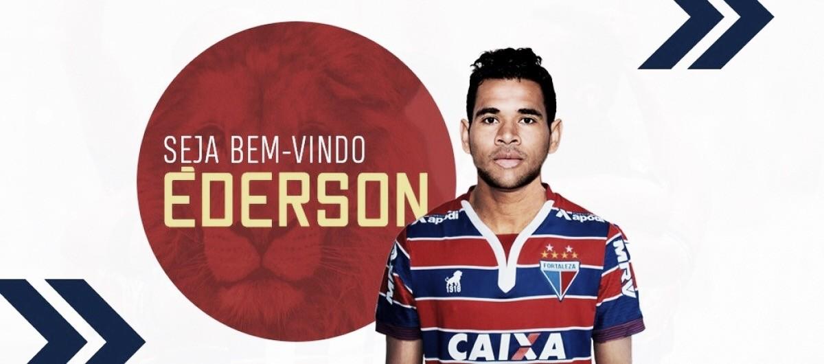 Fortaleza oficializa contratação do atacante Éderson