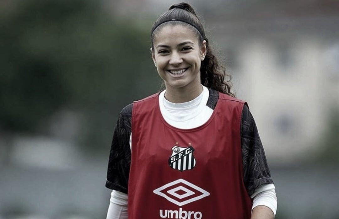Promessa do futebol feminino,Angelina Constantino deixa o Santos