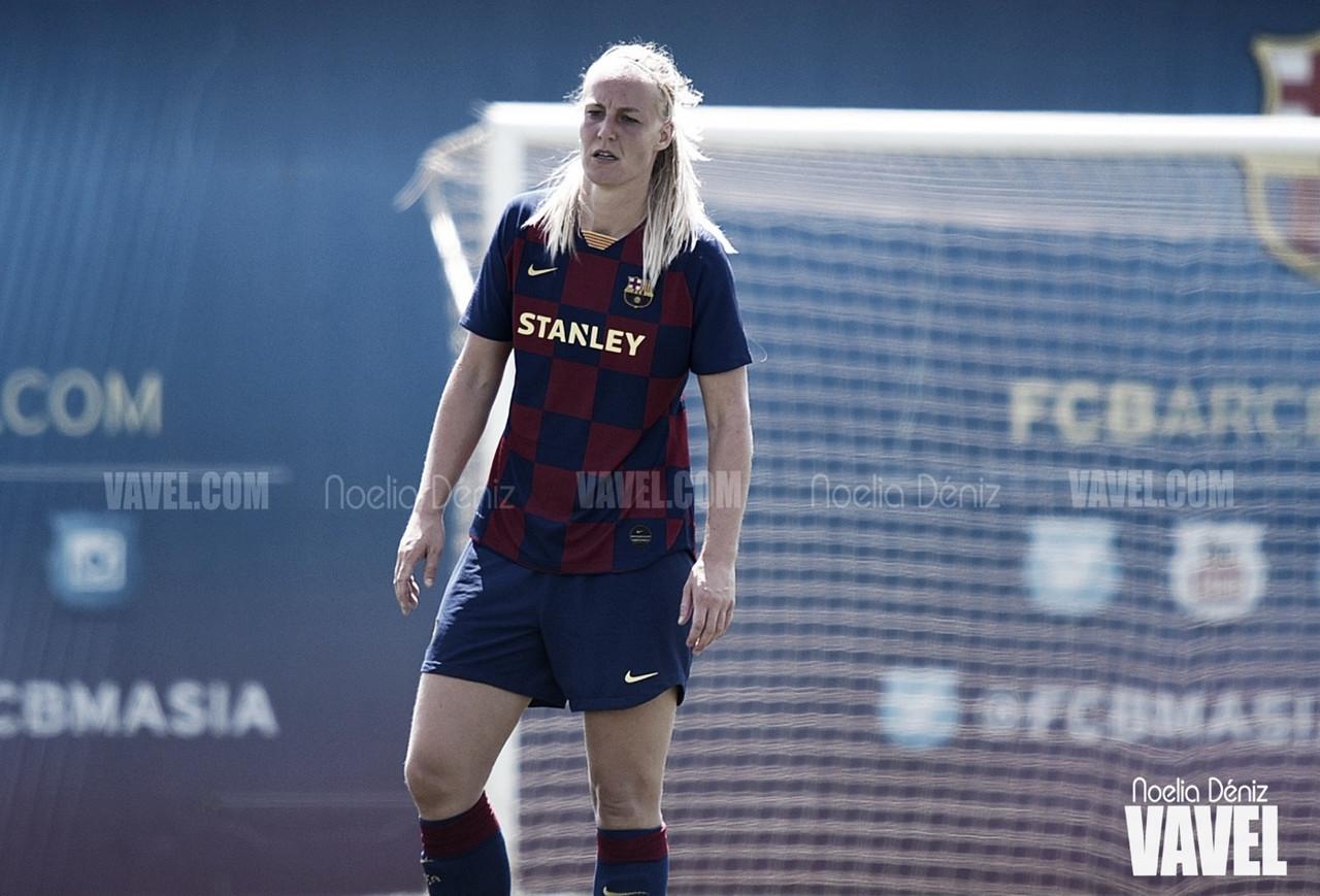 Stefanie Van der Gragt abandona el Barça