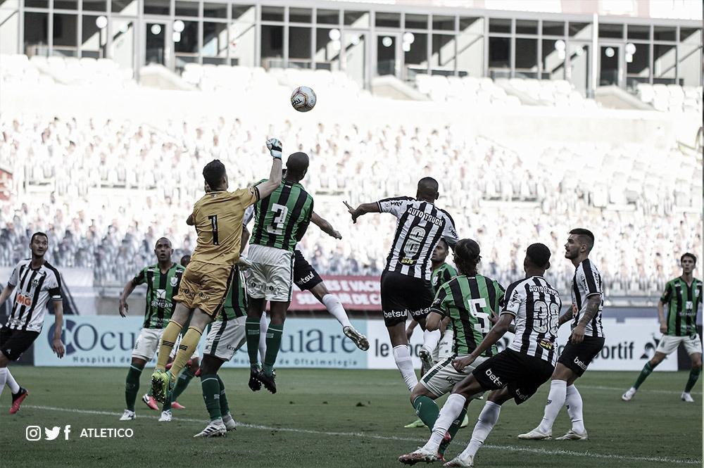 Atlético decide no primeiro tempo e abre vantagem ante América na semifinal do Mineiro