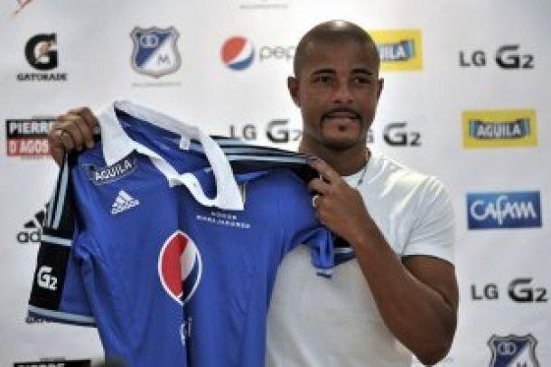 Wesley Lopes da Silva fue presentado oficialmente como nuevo refuerzo de Millonarios