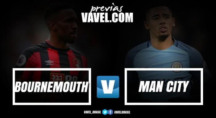 Manchester City visita Bournemouth buscando encostar nos líderes da Premier League