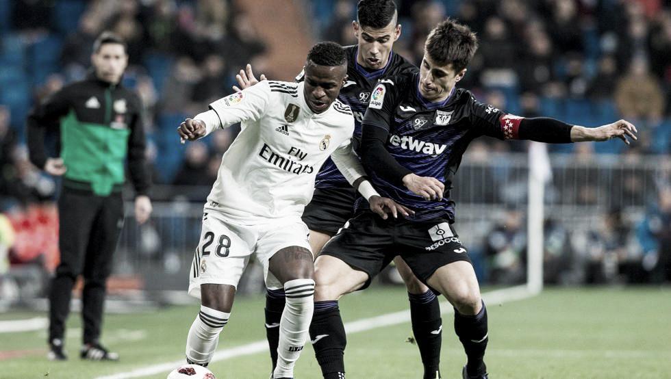 El Real Madrid cumple ante el Leganés