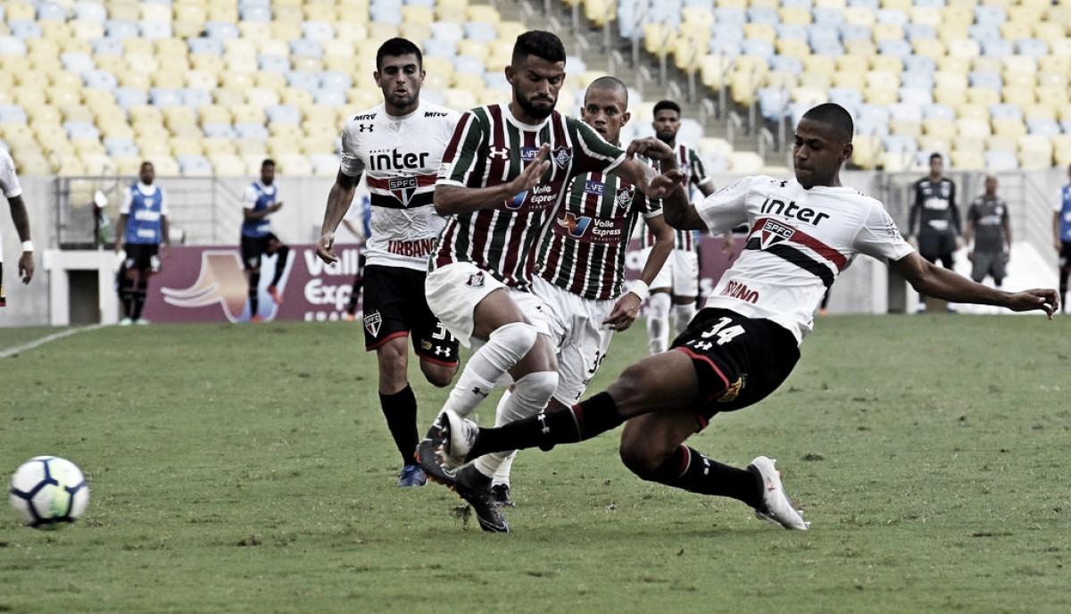Desfalcado, São Paulo recebe Fluminense tentando manter diferença na tabela do Brasileirão