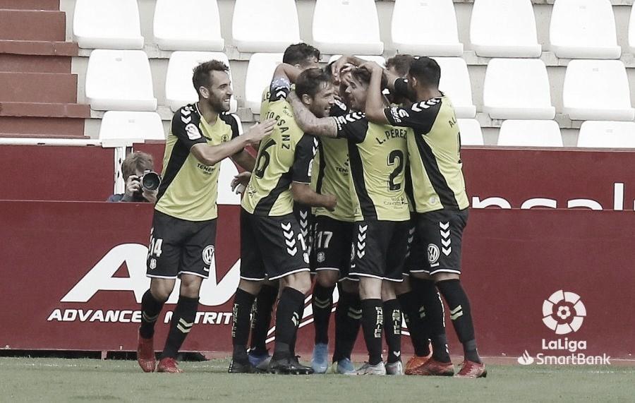 Contundente victoria del CD Tenerife en el Carlos Belmonte