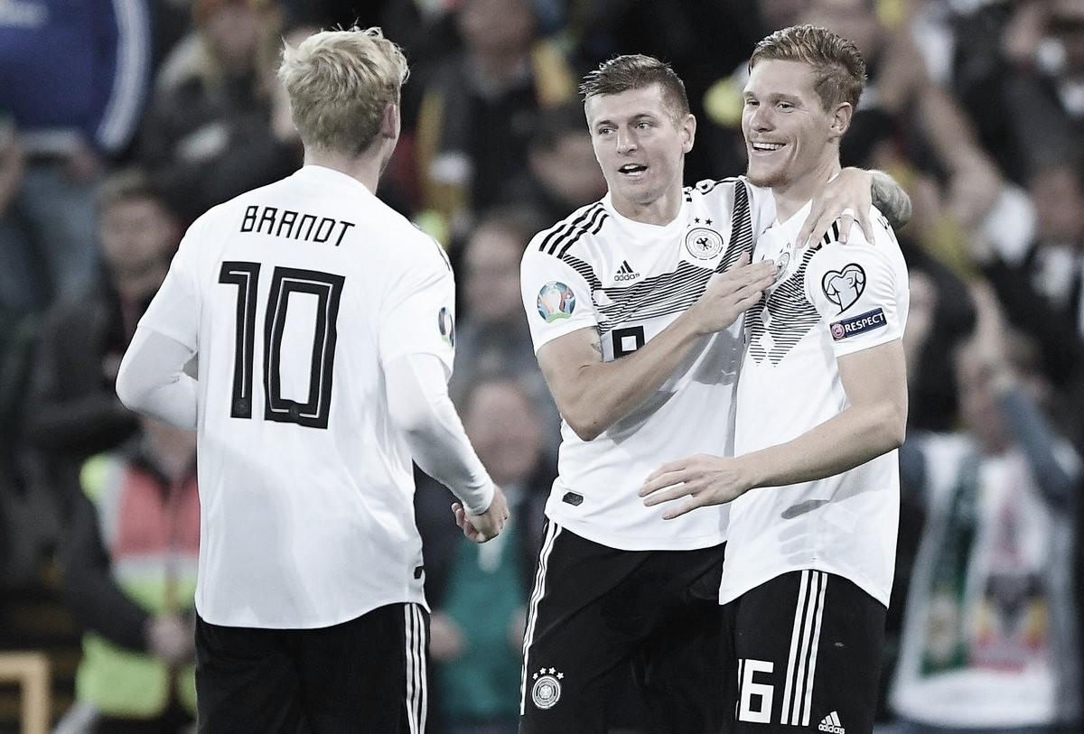 Melhores momentos de Estônia x Alemanha pelas Eliminatórias UEFA Euro (0-3)
