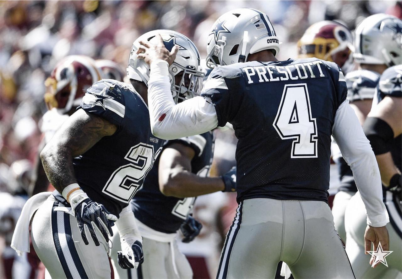 Dak Prescott repite gran actuación y Dallas derrota a Washington