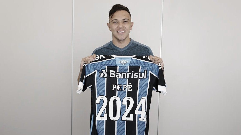 De contrato renovado, Pepê é o herdeiro de Everton Cebolinha no Grêmio