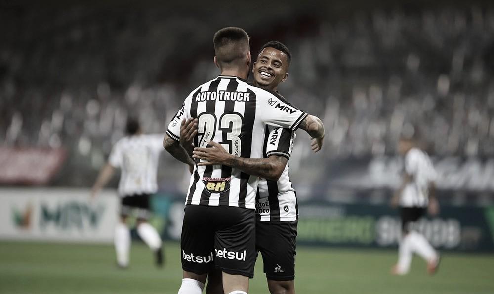 Atlético-MG liquida Patrocinense no primeiro tempo e está no mata-mata do Mineiro