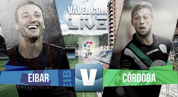 Eibar vs Córdoba en vivo y en directo online en Liga BBVA 2015