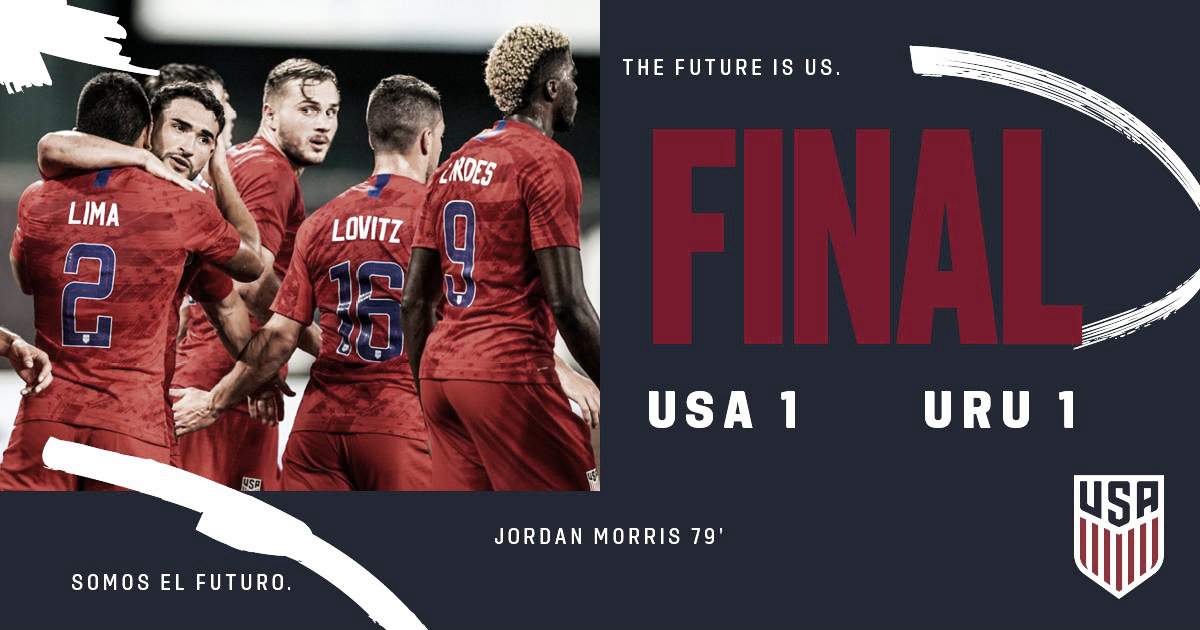 Estados Unidos 1-1 Uruguay: USMNT recupera la confianza