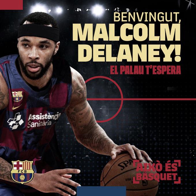 Delaney aterriza en el ilusionante proyecto del FC Barcelona