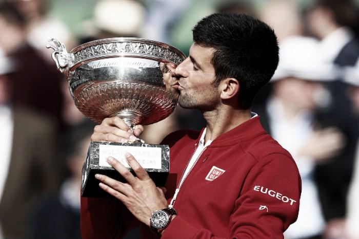Novak Djokovic finalmente completa o Career Slam