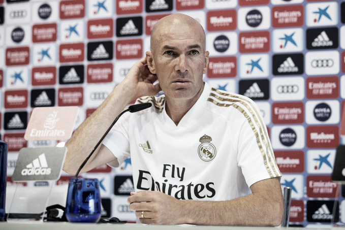 """Zinedine Zidane: """"Mi filosofía es creer en todos mis jugadores"""""""