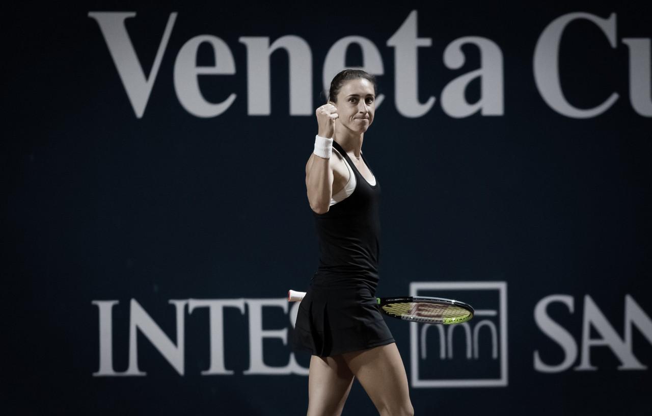 Martic vira sobre Samsonova em longo jogo e vai às quartas no WTA de Palermo