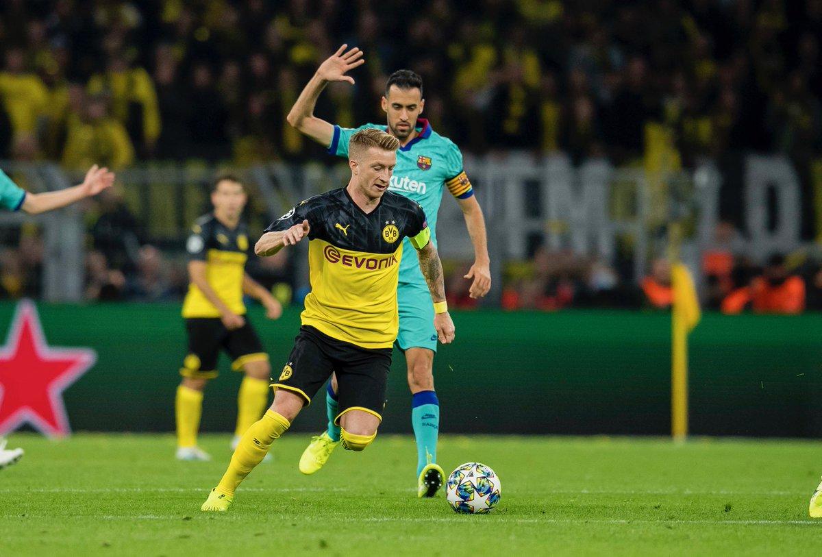 Champions League- 0-0 tra Barcellona e Dortmund
