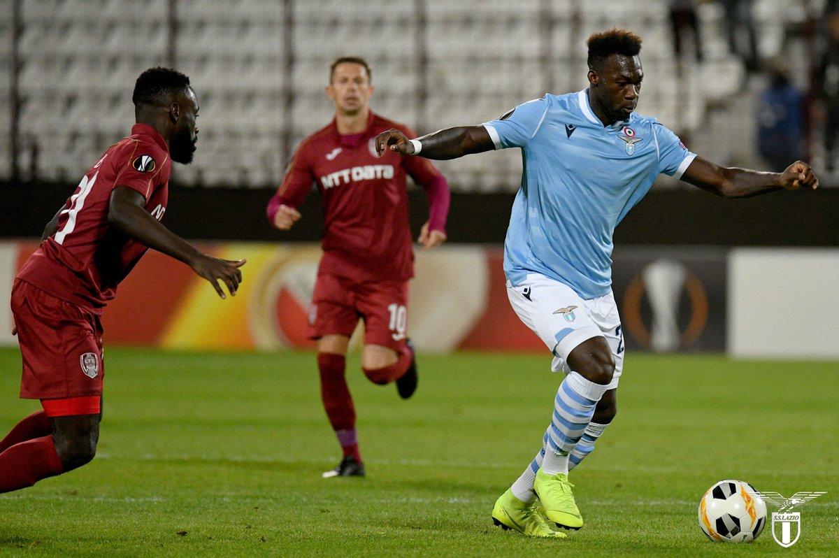 Europa League- La Lazio spreca troppo nel primo tempo, il Cluj ringrazia e vince 2-1