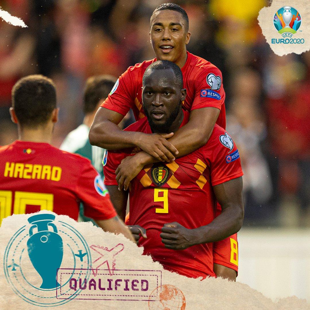 Qualificazioni Euro 2020 - Il Belgio è la prima qualificata