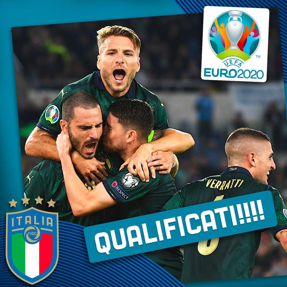 Qualificazioni Europei 2020- L'talia batte la Grecia e si qualifica