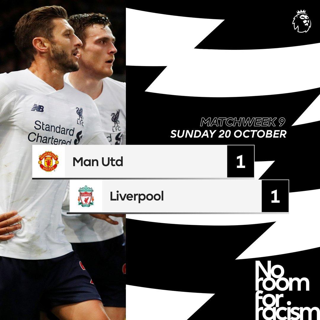 I Red Devils frenano il Liverpool e riaprono la Premier