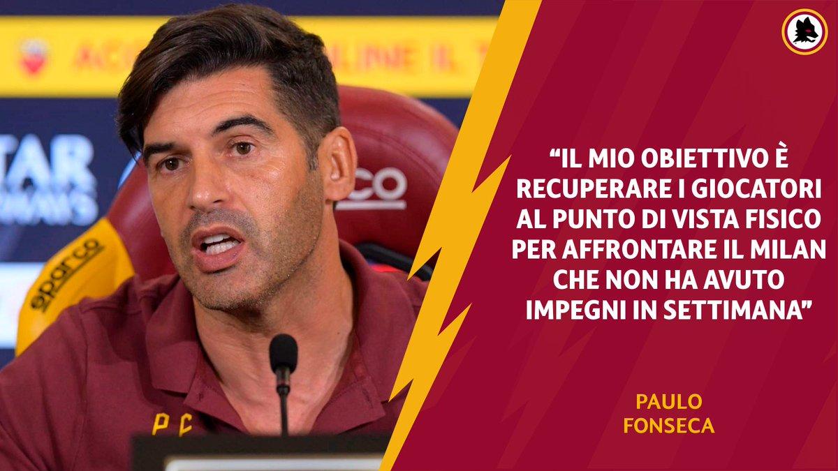 Le parole di Fonseca alla viglia della supersfida al Milan