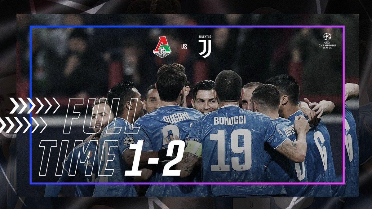 La Juventus si qualifica agli ottavi della Champions. Lokomotiv battuta 2-1