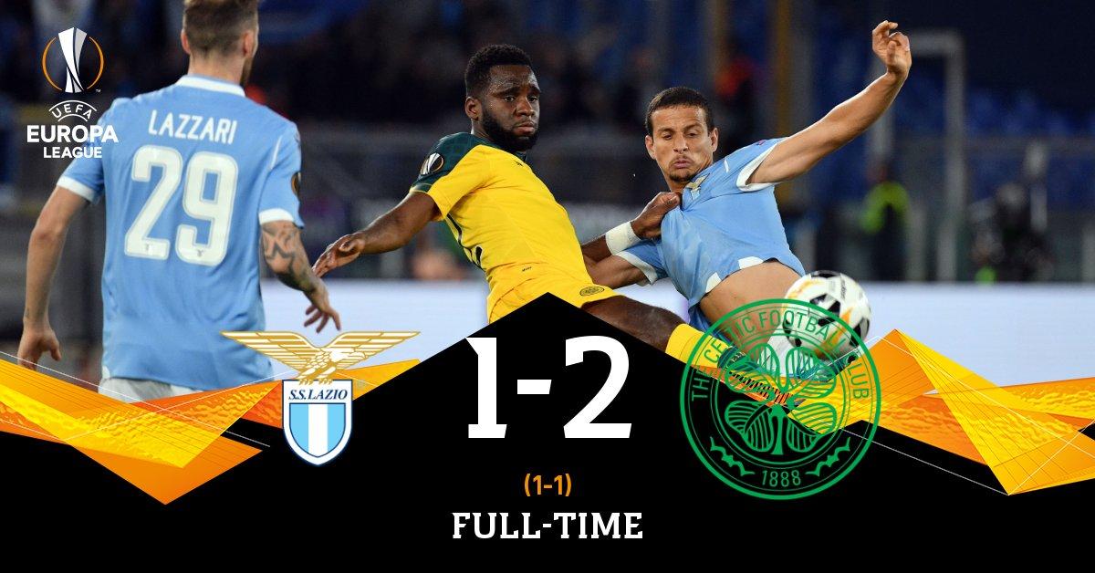 Lazio sconfitta 2-1 dal Celtic e l'Europa League si complica